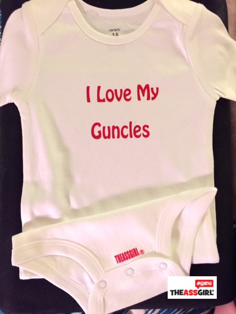 I Love My Guncles Onesie for Baby