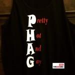 PHAG black tank - logo