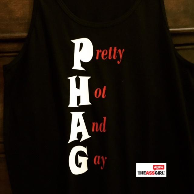 PHAG – Pretty Hot And Gay Tank Top