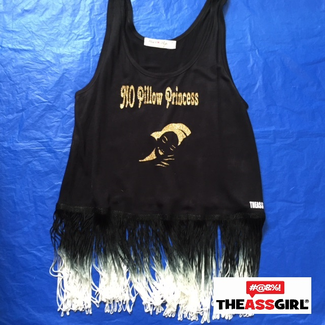 No Pillow Princess Fringe Tank Top